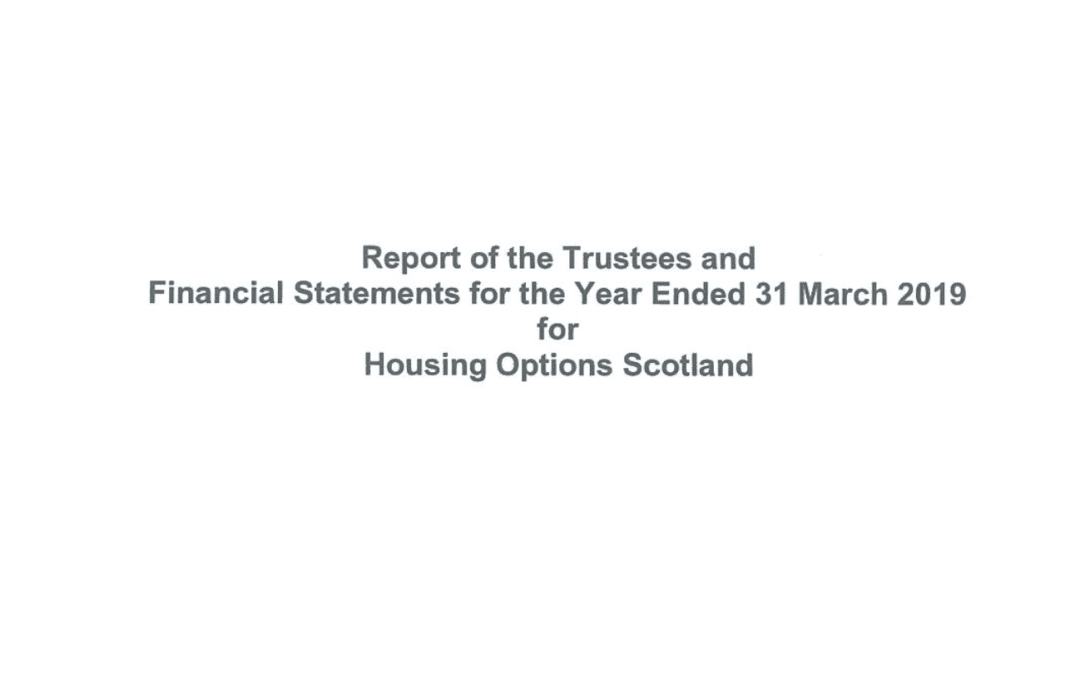 Report of the Trustees & Financial Statement 2018/19