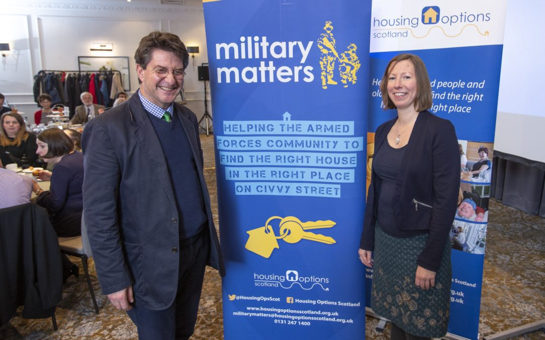 Housing Charity receives boost to support members of the Armed Forces community