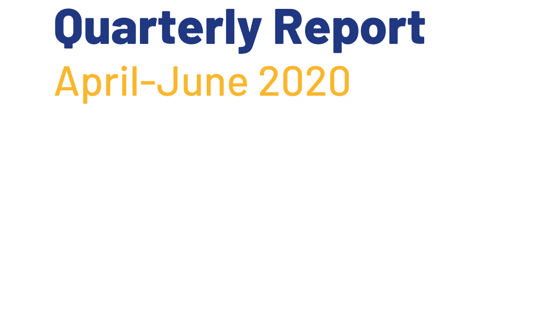 Operating through COVID-19: Q1 Report