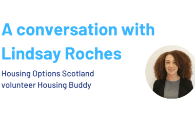 A conversation with Lindsay Roches, volunteer Housing Buddy