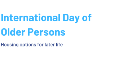 International Day of Older Persons: housing options for later life