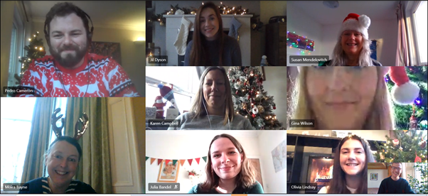 Festive update: the HOS team looks to the future