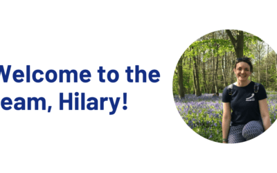 Welcome to the team, Hilary!