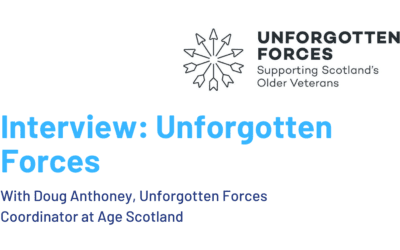 Interview: Unforgotten Forces project supports older veterans