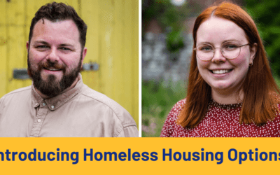 An introduction to Homeless Housing Options with Pedro Cameron